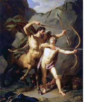 星座図鑑・いて座の神話